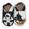 chaussons en cuir souple pti pirate