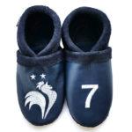 chaussons en cuir souple tannage végétal champion du monde