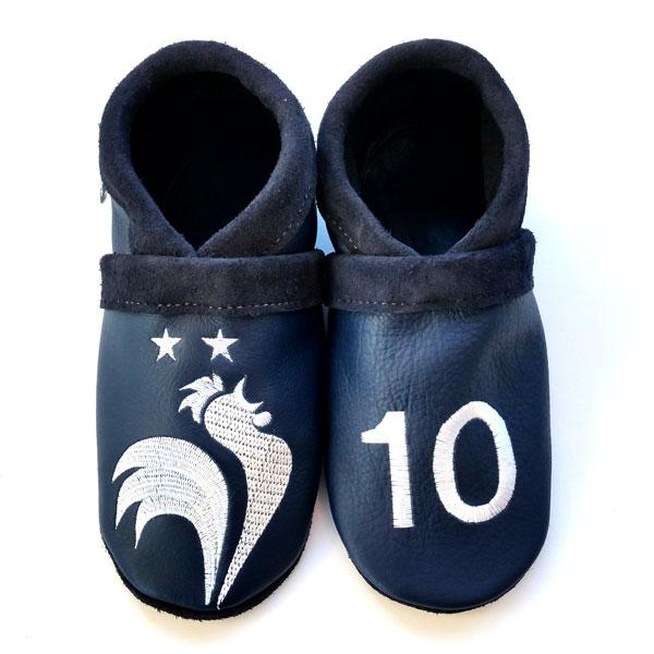 chaussons en cuir souple champion du monde