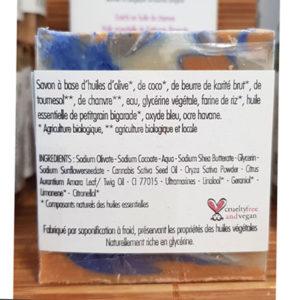 Savon Feuille d'agrume peau fatiguée